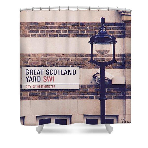 Great Scotland Yard Shower Curtain
