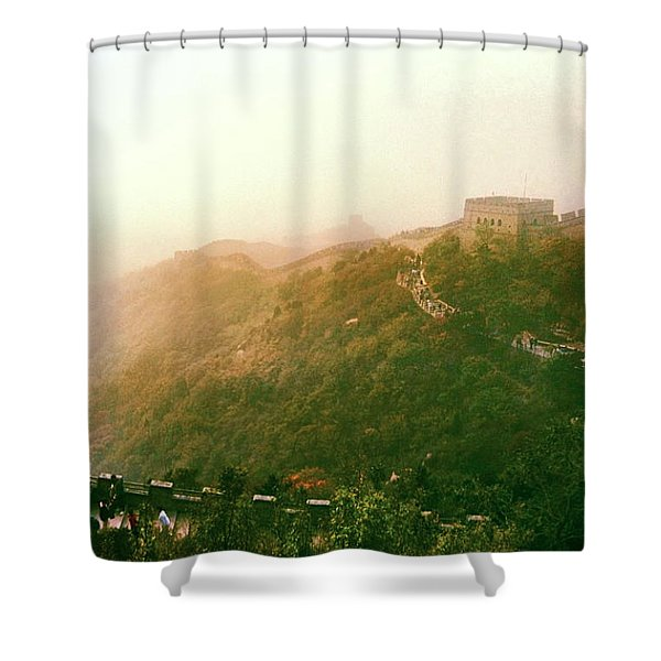Great Wall Of China Beijing  Shower Curtain
