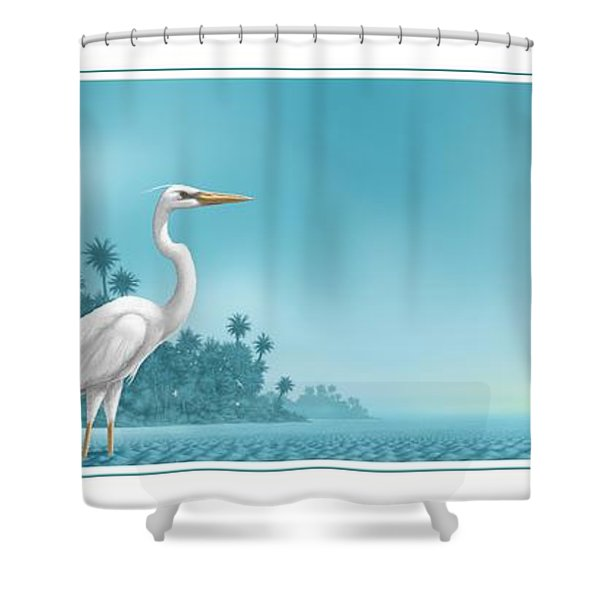 Great White Shower Curtain