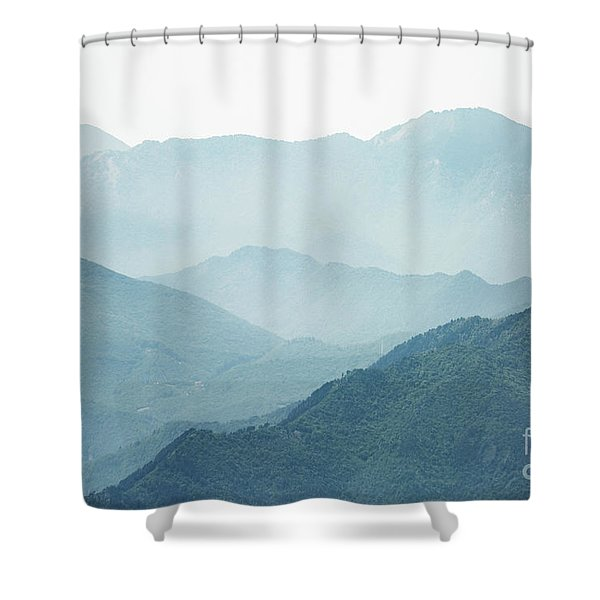 Greater Heights Shower Curtain