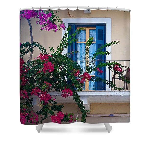 Greek Beauty Shower Curtain