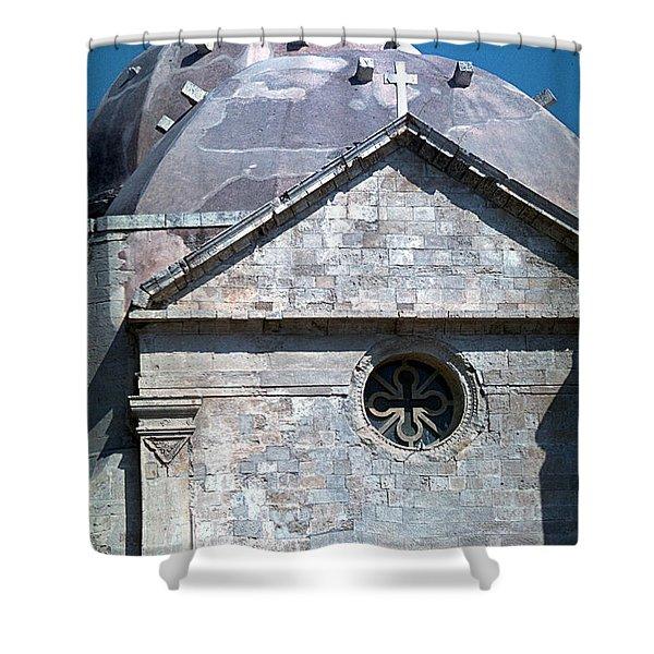 Greek Orthodox Church Shower Curtain
