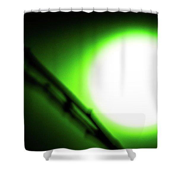 Green Goblin Shower Curtain