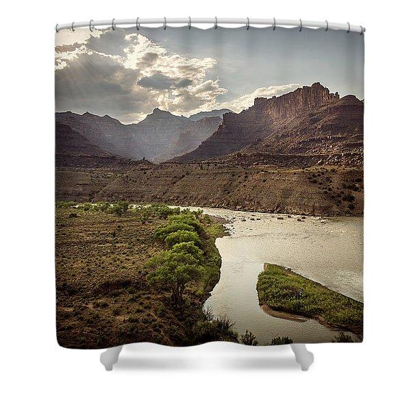Green River, Utah Shower Curtain