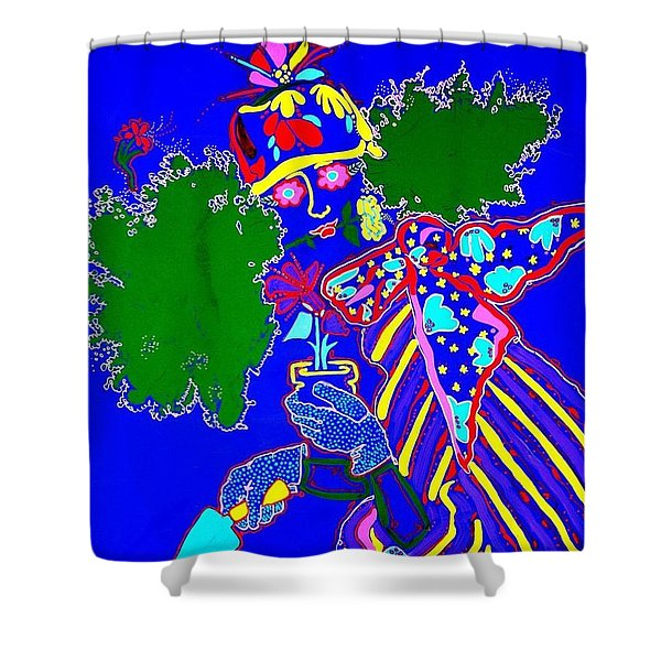 Greenhouse Effect  Shower Curtain