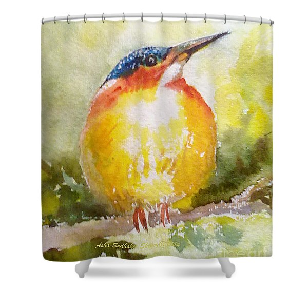 Greeting Card 1 Shower Curtain