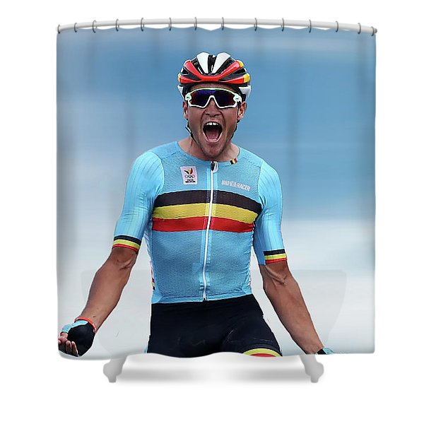 Greg Van Avermaet 4 Shower Curtain