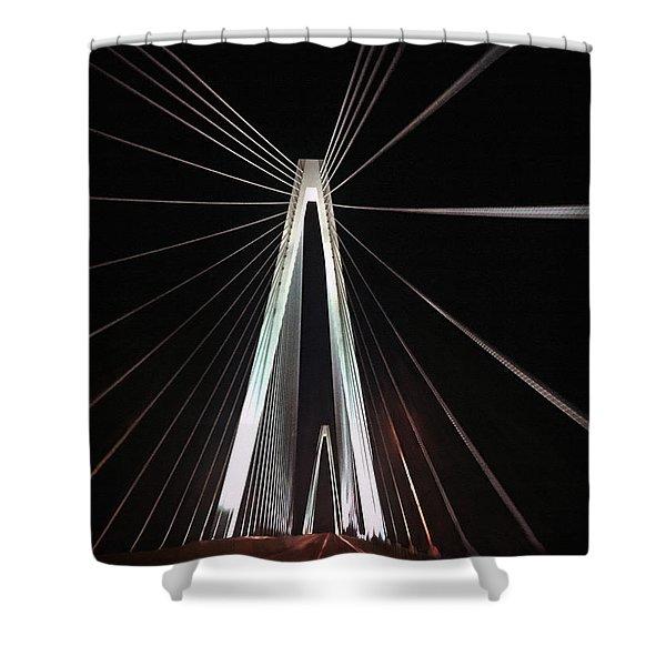 Gregs Bridge Shower Curtain