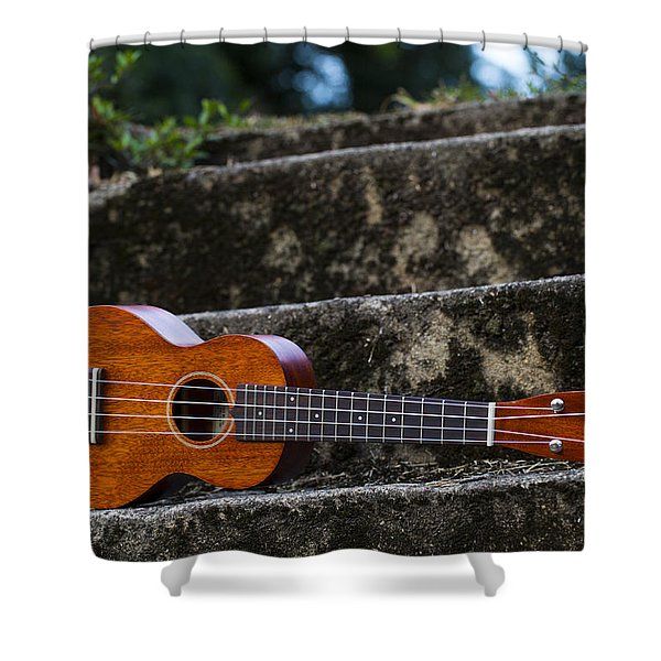Gretsch Ukulele Shower Curtain