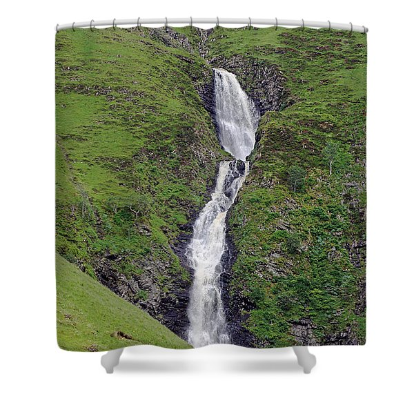 Grey Mare's Tail Shower Curtain