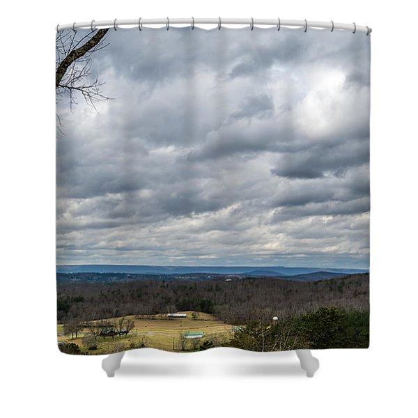 Grey Skies Shower Curtain