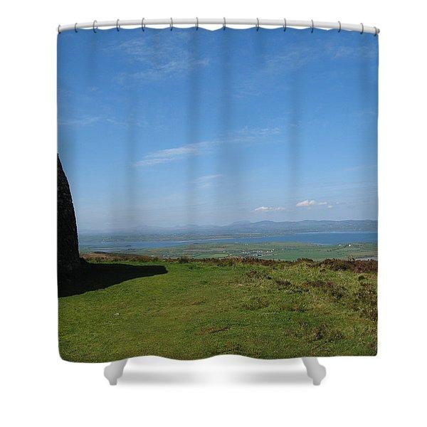 Grianan Of Aileach Shower Curtain