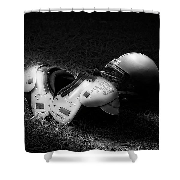 Gridiron Gear Shower Curtain