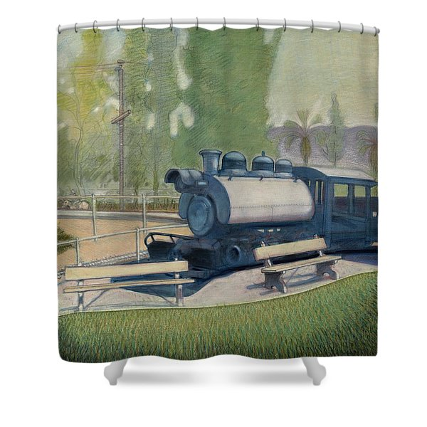 Travel Town Shower Curtain