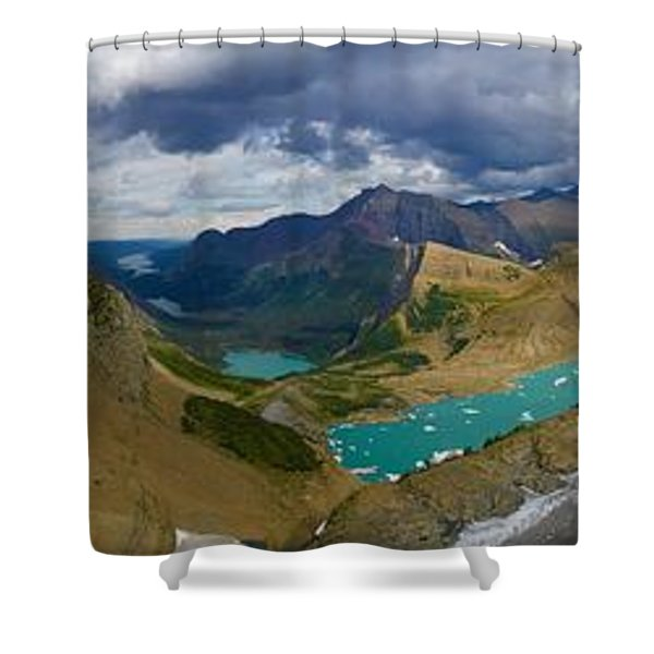 Grinnell Glacier Shower Curtain