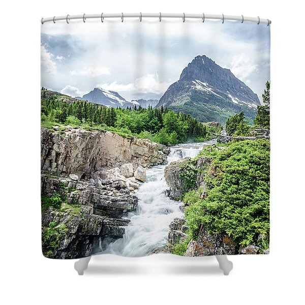 Grinnell Point Shower Curtain