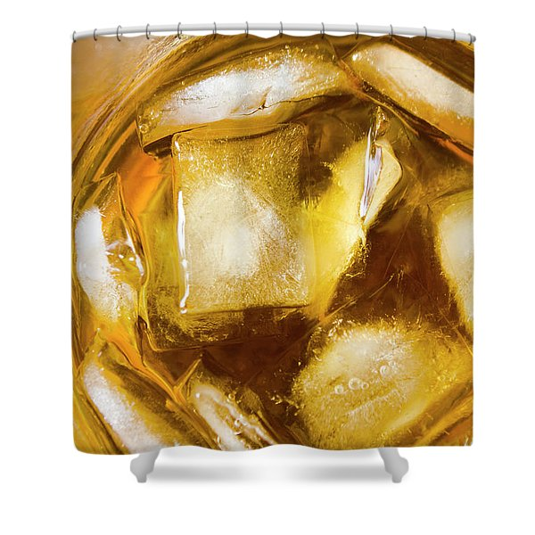 Grog On The Rocks Shower Curtain
