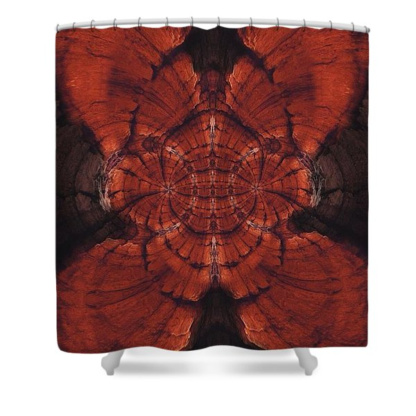 Grooterfly Shower Curtain