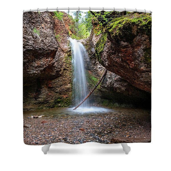 Grotto Falls Shower Curtain