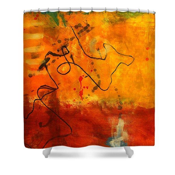 Ground Coffee Shower Curtain