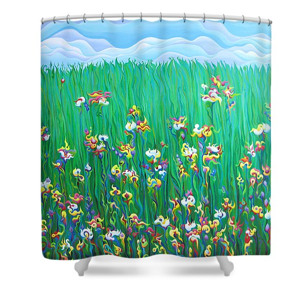 Grown To Distraction Shower Curtain