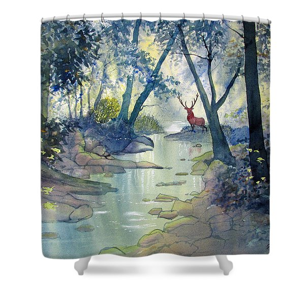 Guardian O'the Glade Shower Curtain