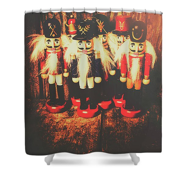 Guards Of The Toy Box Shower Curtain
