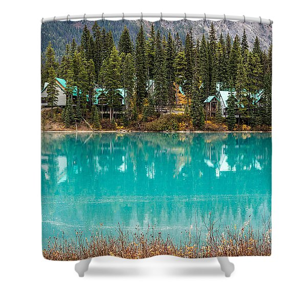 Emerald Lake Shower Curtain