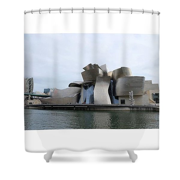 Guggenheim Museum. Bilbao Shower Curtain