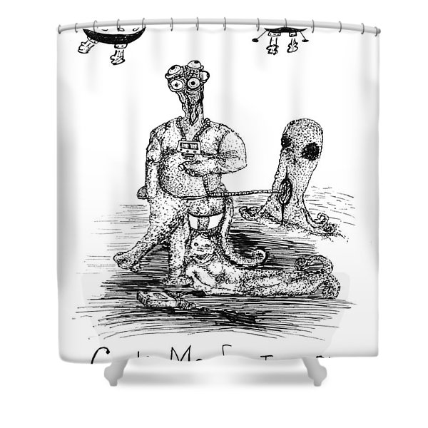 Guide Me For I Am Blind Shower Curtain