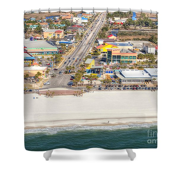 Gulf Shores - Hwy 59 Shower Curtain