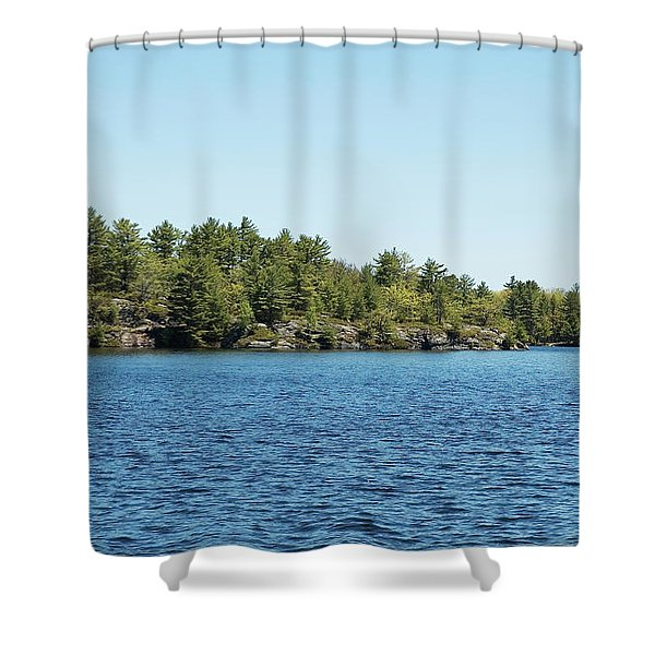 Gull Lake Shower Curtain