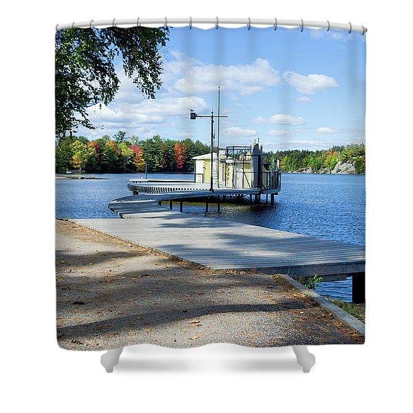 Gull Lake Park Gravenhurst 2 Shower Curtain