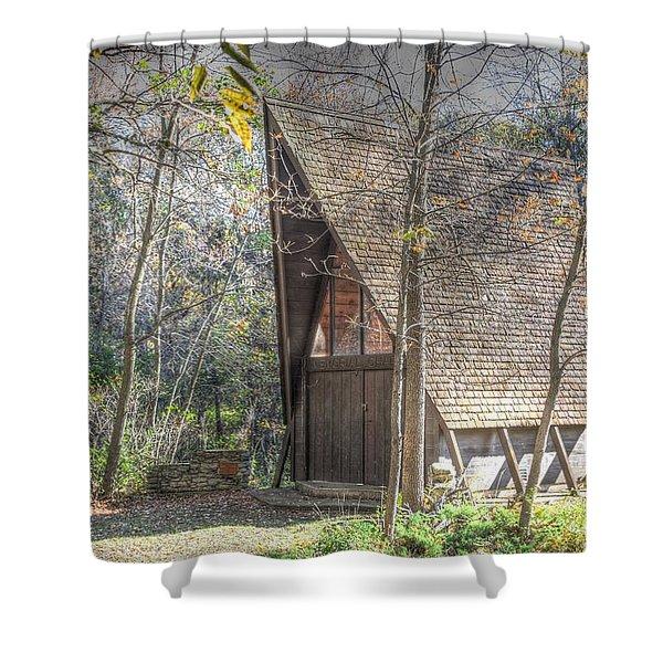 Gull Point Chapel Shower Curtain