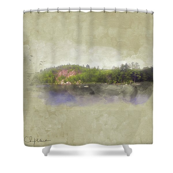 Gull Pond Shower Curtain