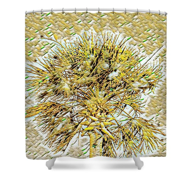 Gullah Palm Shower Curtain
