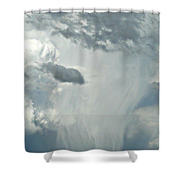Gust Of Rain Shower Curtain