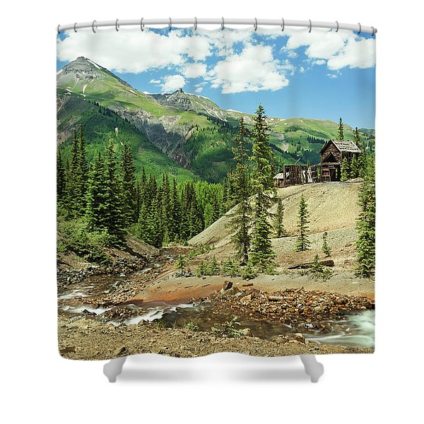 Gustan Mine Shower Curtain