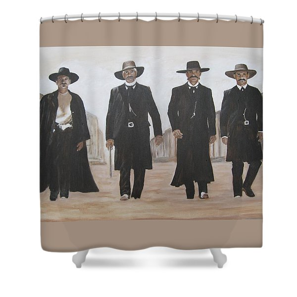 guys from Tombstone Shower Curtain