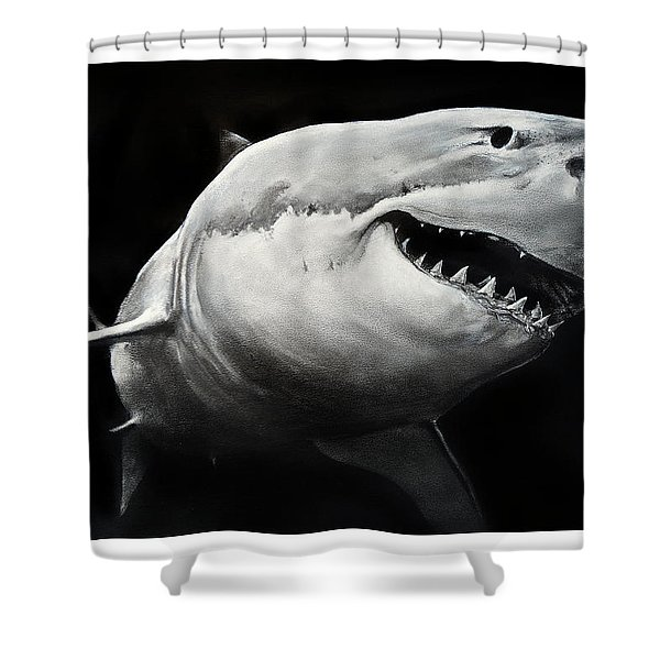 Gw Shark Shower Curtain