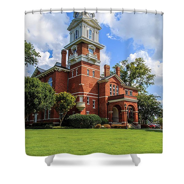 Gwinnett County Historic Courthouse Shower Curtain