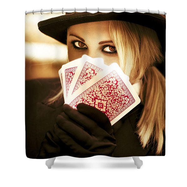 Gypsy Fortune Teller Shower Curtain