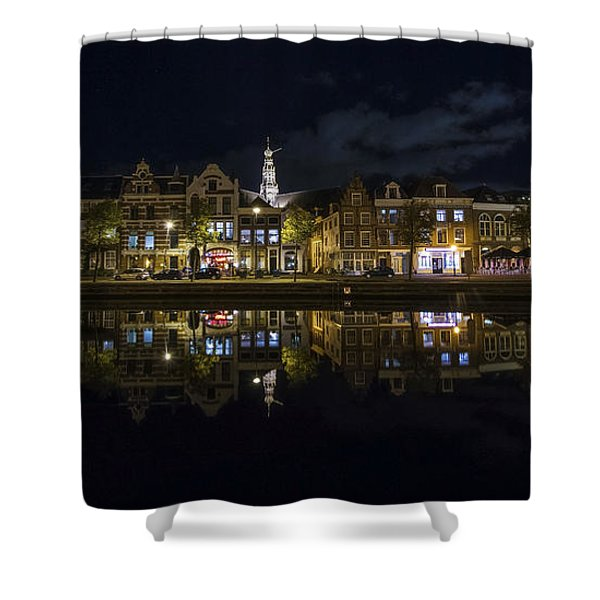 Haarlem Night Shower Curtain