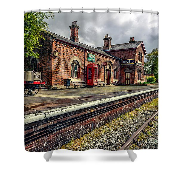 Hadlow Road Railway Station Shower Curtain