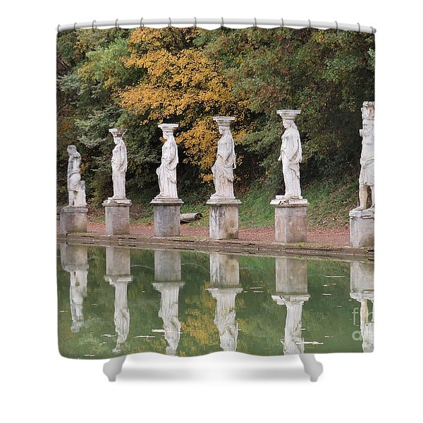 Hadrian's Villa 4 Shower Curtain