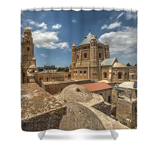 Hagia Maria Sion 1 Shower Curtain