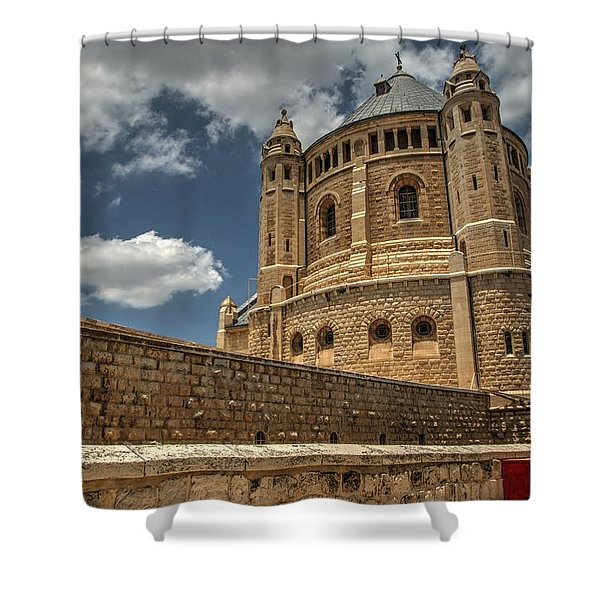Hagia Maria Sion 3 Shower Curtain