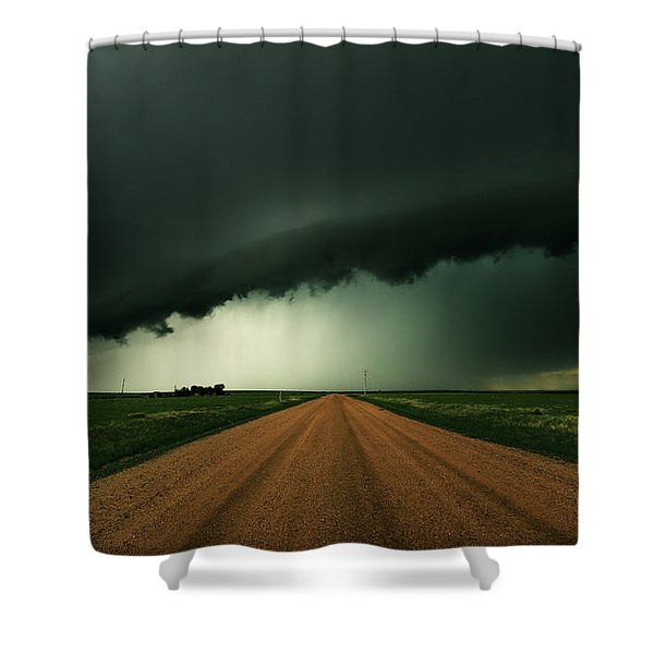 Hail Shaft Shower Curtain