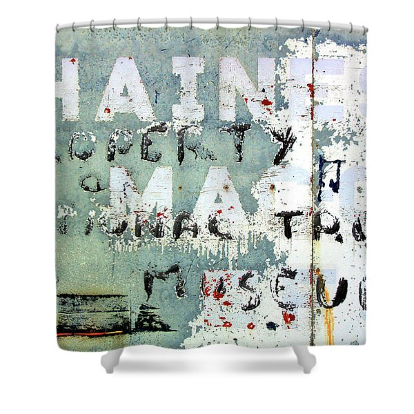 Haines Property Shower Curtain
