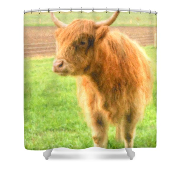 Shower Curtain featuring the photograph Hairy Coos by Garvin Hunter